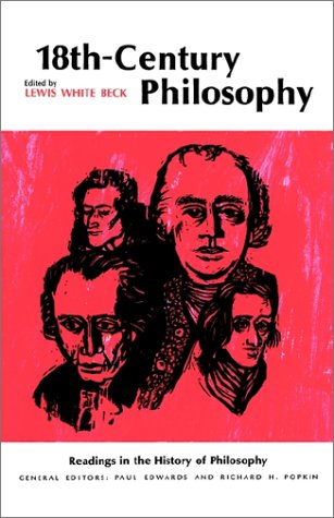 18th-Century Philosophy   1966 edition cover