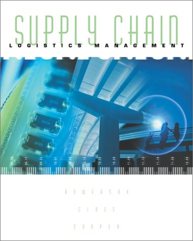 Supply Chain Logistics Management 1st 2002 edition cover