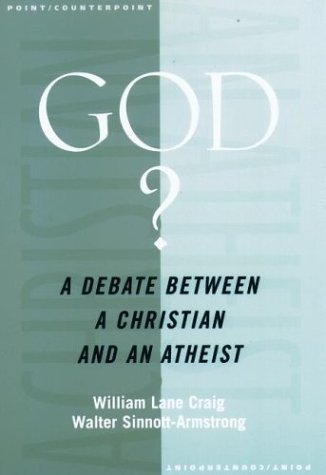 God? A Debate Between a Christian and an Atheist  2003 edition cover