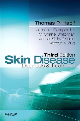 Skin Disease Diagnosis and Treatment 3rd 2011 edition cover