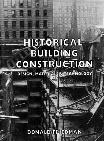 Historical Building Construction   1995 edition cover