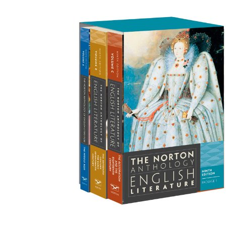Norton Anthology of English Literature  9th 2012 9780393913002 Front Cover