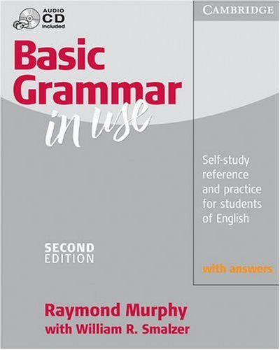 Basic Grammar in Use Self-Study Reference and Practice for Students of English 2nd 2002 edition cover