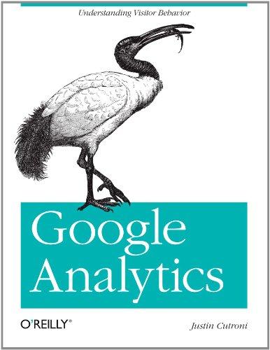 Google Analytics   2010 edition cover