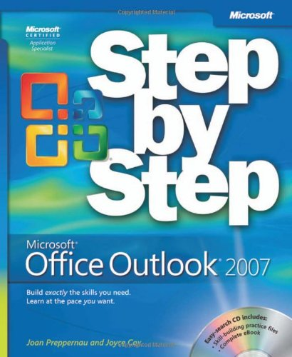 Microsoft� Office Outlook� 2007   2007 (Revised) edition cover