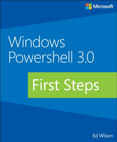 Windows PowerShell 3.0 First Steps   2014 edition cover