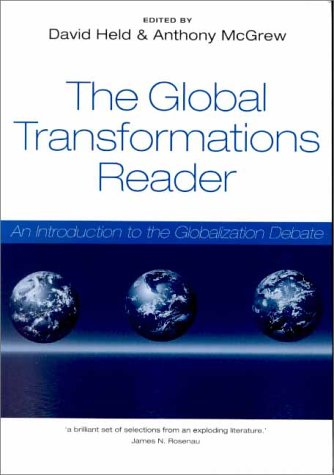 Global Transformations Reader   2000 9780745622002 Front Cover