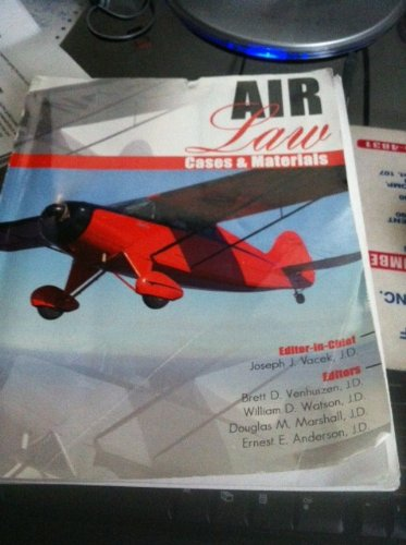 Air Law Cases and Materials  Revised  edition cover