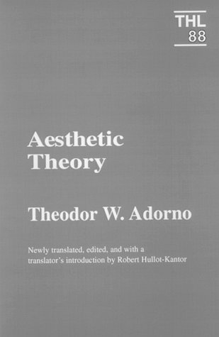 Aesthetic Theory  N/A edition cover