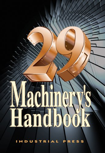 Machinery's Handbook  29th 2012 9780831129002 Front Cover