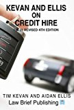 Kevan and Ellis on Credit Hire 4th 0 edition cover