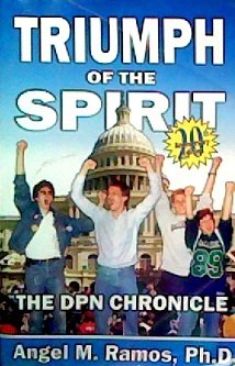 TRIUMPH OF THE SPIRIT N/A edition cover