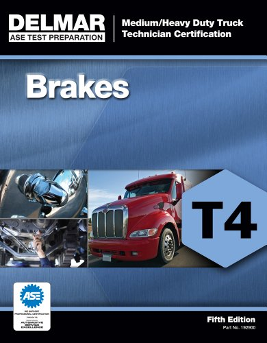 ASE Test Preparation - T4 Brakes  5th 2013 edition cover