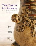 Earth and Its Peoples A Global History, Volume B: 1200-1870 6th 2015 edition cover