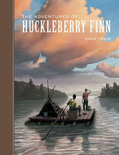 Adventures of Huckleberry Finn Unabridge   2007 9781402726002 Front Cover