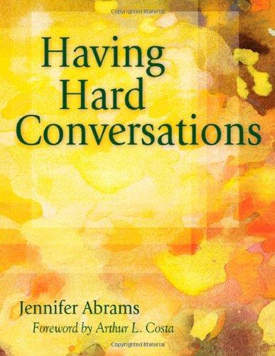 Having Hard Conversations   2009 edition cover