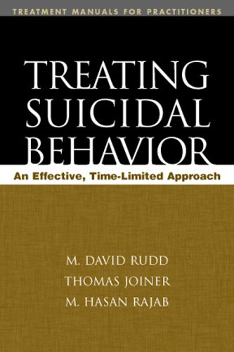 Treating Suicidal Behavior An Effective, Time-Limited Approach  2001 edition cover