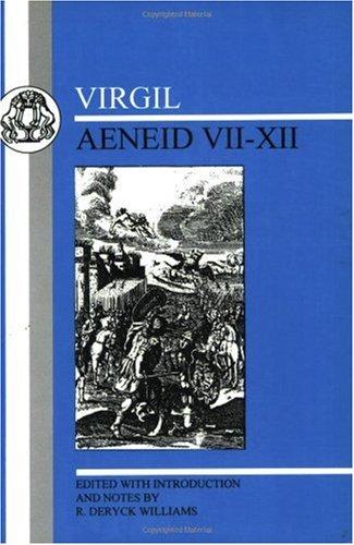 Virgil Aeneid VII-XII  1996 (Revised) edition cover