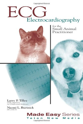 ECG for the Small Animal Practitioner   2009 (Revised) edition cover