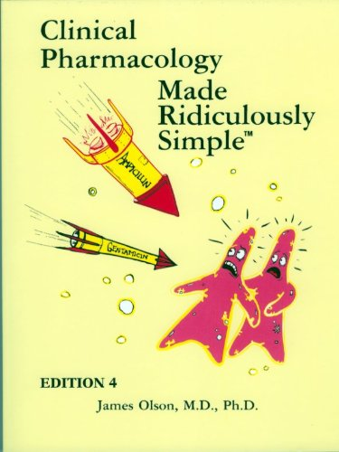 Clinical Pharmacology Made Ridiculously Simple  4th 2010 edition cover