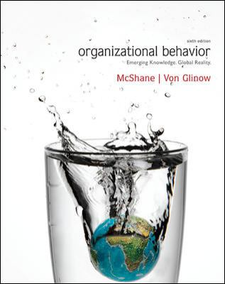 Organizational Behavior  6th 2013 9780077557003 Front Cover
