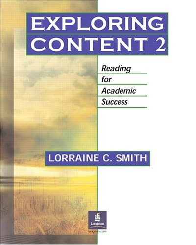 Exploring Content 2 Reading for Academic Success  2005 edition cover