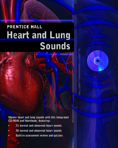 Prentice Hall Heart and Lung Sounds   2007 edition cover