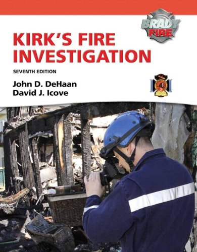 Kirk's Fire Investigation  7th 2012 9780132830003 Front Cover