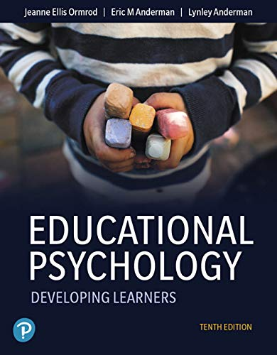 Educational Psychology: Developing Learners Plus Mylab Education With Pearson Etext -- Access Card Package  2019 9780135206003 Front Cover