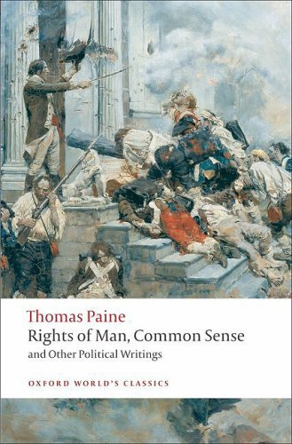 Rights of Man, Common Sense, and Other Political Writings   2008 edition cover