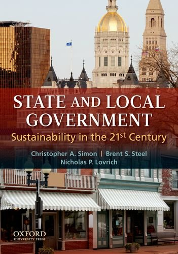 State and Local Government Sustainability in the 21st Century  2010 edition cover