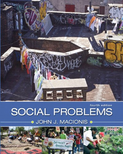 Social Problems  4th 2010 edition cover
