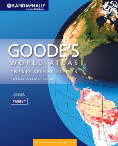Goode's World Atlas  22nd 2010 9780321652003 Front Cover