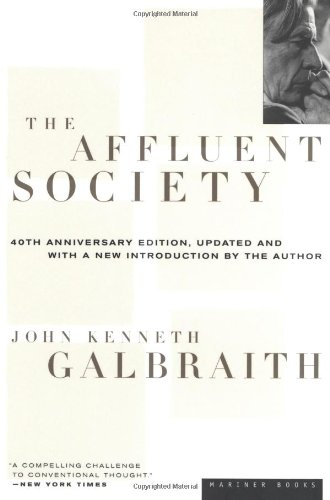Affluent Society  40th 1997 (Anniversary) edition cover