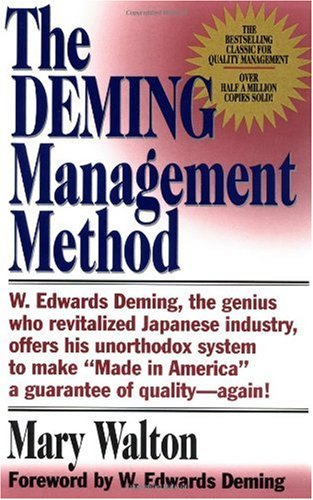 Deming Management Method  N/A edition cover