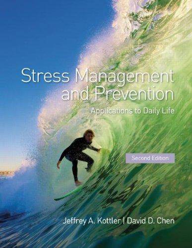 Stress Management and Prevention Applications to Daily Life 2nd 2012 (Revised) edition cover
