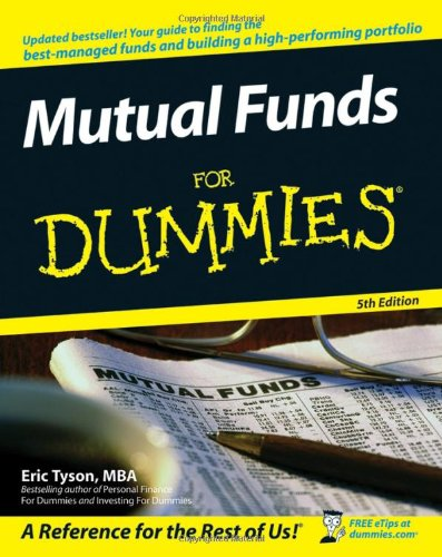 Mutual Funds for Dummies  5th 2007 (Revised) edition cover