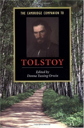 Cambridge Companion to Tolstoy   2002 edition cover