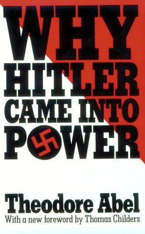 Why Hitler Came into Power   1938 edition cover