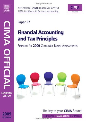 Financial Accounting and Tax Principles  5th 2008 9780750687003 Front Cover