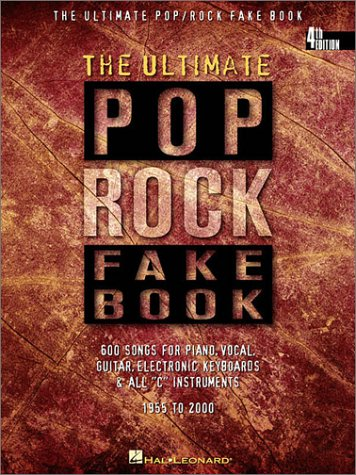 Ultimate Pop/Rock Fake Book  4th 1997 (Revised) edition cover