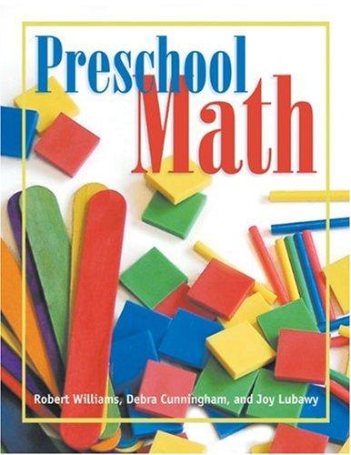 Preschool Math   2005 edition cover