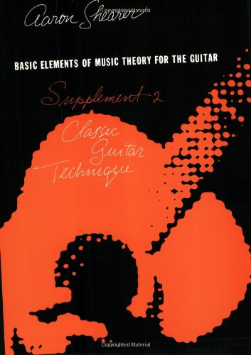 Basic Elements of Music Theory for the Guitar Classic Guitar Technique N/A edition cover