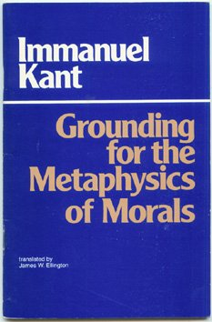 Groundwork for the Metaphysics of Morals  N/A edition cover