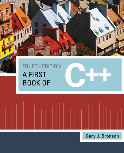 First Book of C++  4th 2012 edition cover