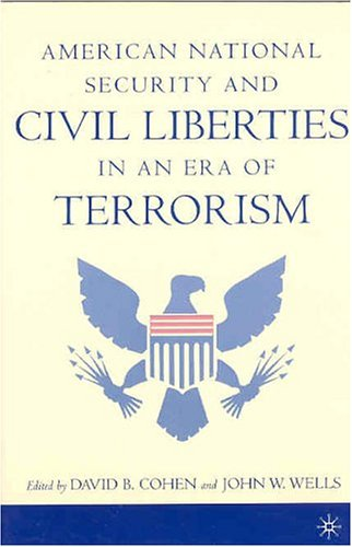 American National Security and Civil Liberties in an Era of Terrorism   2004 (Revised) 9781403962003 Front Cover