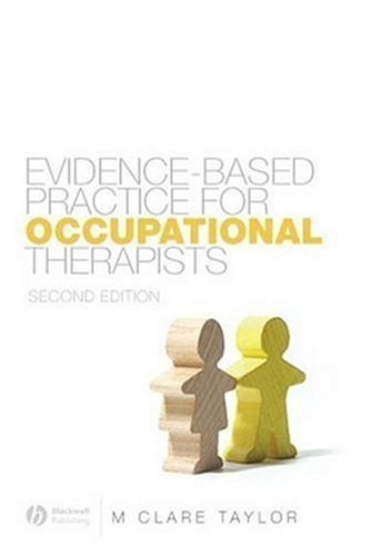 Evidence-Based Practice for Occupational Therapists  2nd 2007 (Revised) edition cover