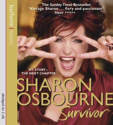 Sharon Osbourne Survivor: My Story-the Next Chapter  2008 edition cover