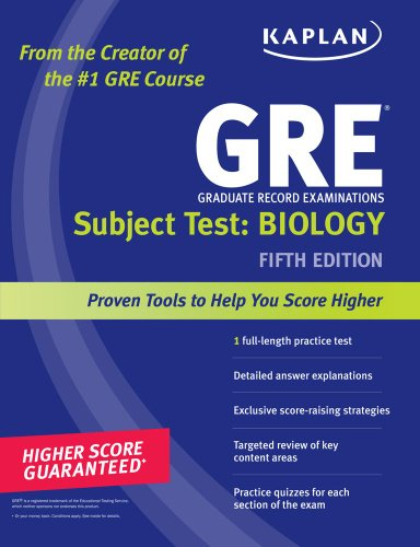 GRE Biology 5th edition cover