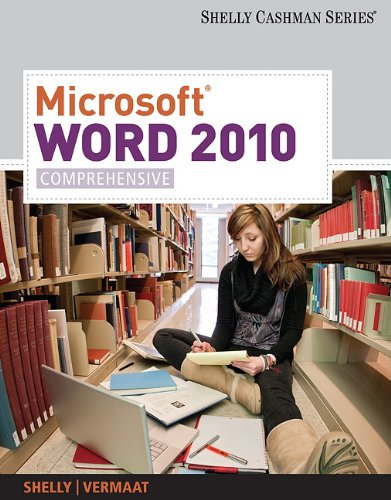 Microsoft� Word 2010 Comprehensive  2012 9781439079003 Front Cover